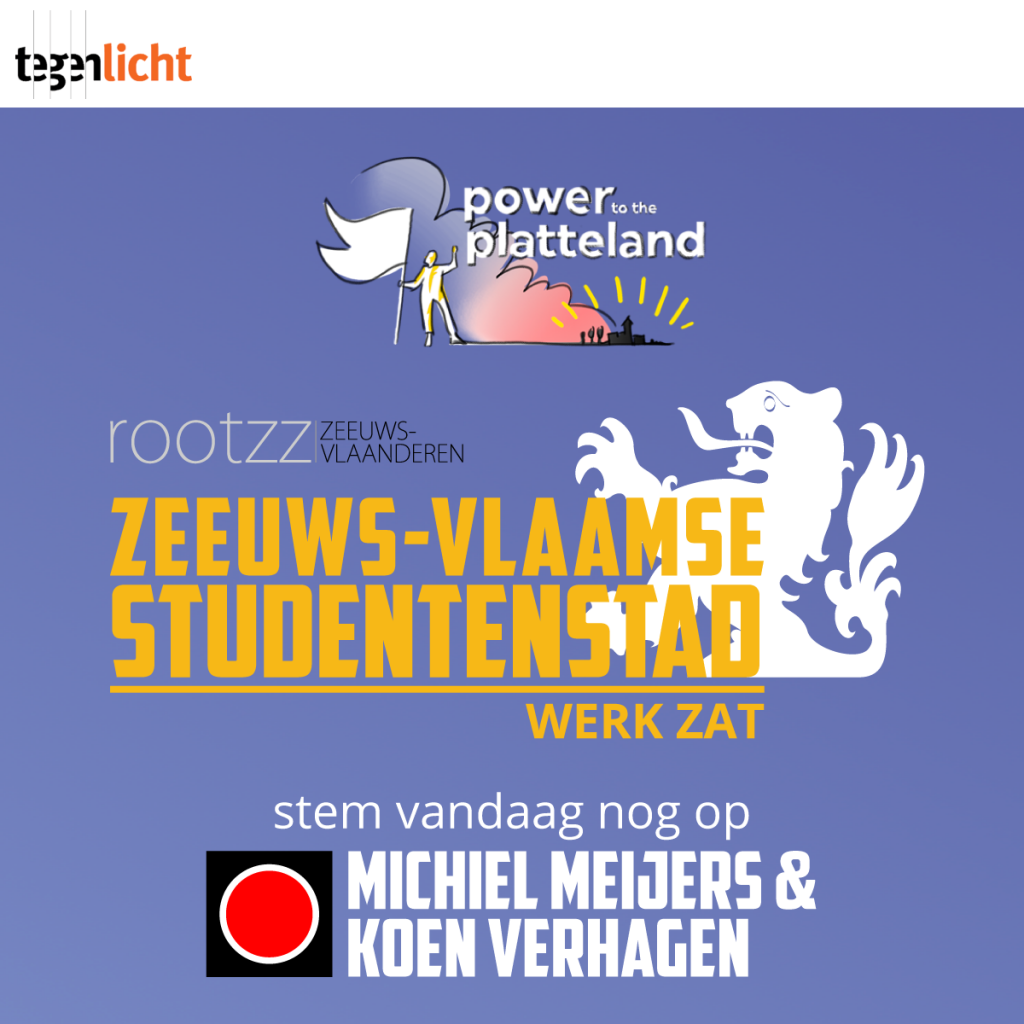 Rzv - verkiezing tegenlicht power to the platteland